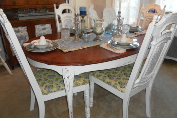 diningroom table makeover