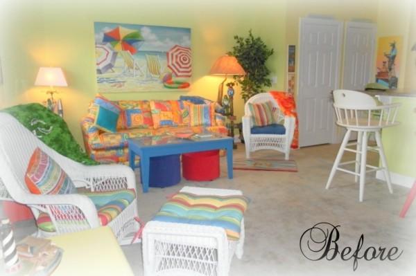 Beach Cottage Livingroom