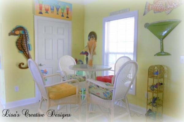 Colorful Beach Kitchen