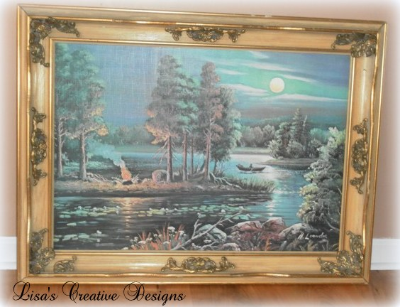 rescued painting