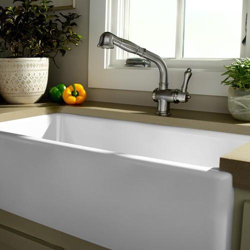"Farm Style Sinks For Kitchen: My Farmhouse Kitchen....Installing A ""New"" Kitchen Sink"