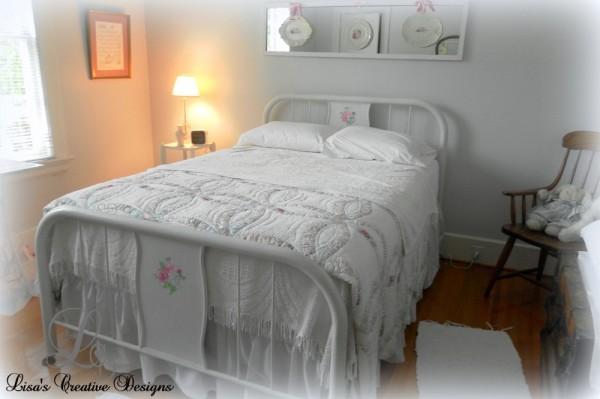 antique hospital bed