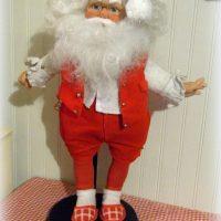 Handmade Vintage Santa Doll