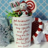 Friendship Christmas Gift Coffee Mug
