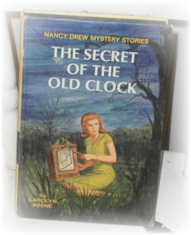 vintage 1959 nancy drew the secret of the old clock. Black Bedroom Furniture Sets. Home Design Ideas