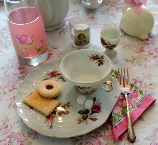 Shabby Chic Vintage China and Glassware