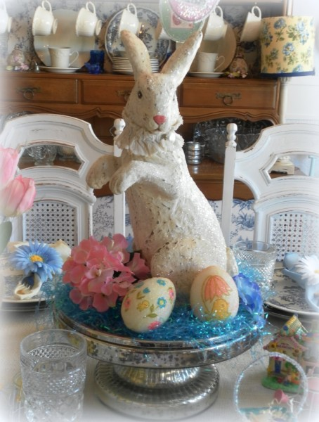 Handmade Vintage Easter Decor