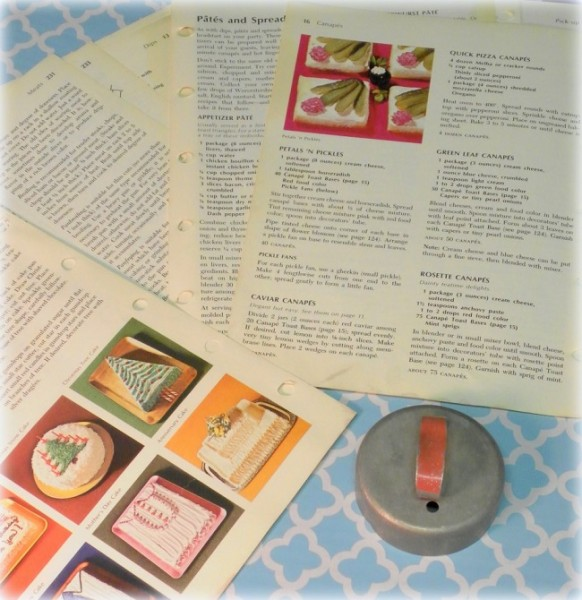 Vintage Craft Supplies and Ephemera