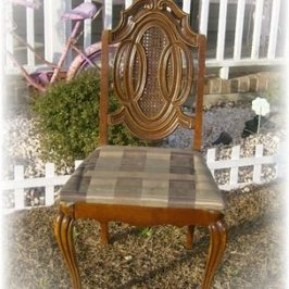 A Shabby to Chic Chair Makeover