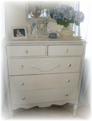 From Shabby to CHIC! A Vintage Dresser Redesign