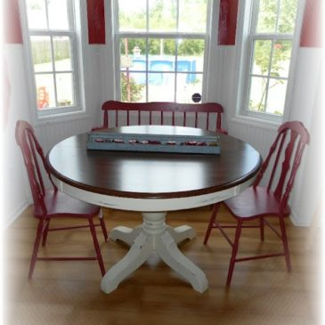 Flea Market Table Makeover Revealed~ I need your opinion!