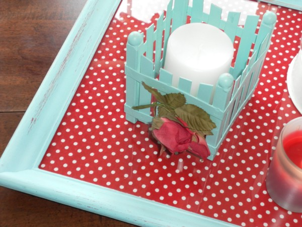 DIY Picture Frame Serving Tray