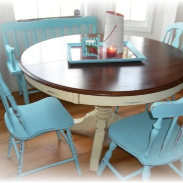I've Got A New TOY! Table Makeover!