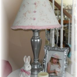 """New"" Cottage Inspired Lamp Makeover"