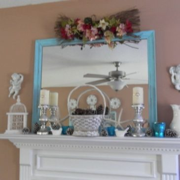 My Winter Mantel Mantle