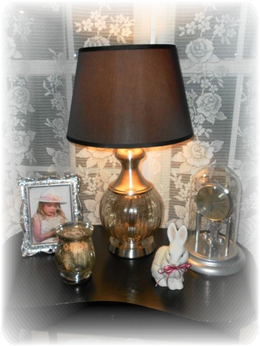 Ross Mercury Glass Lamp