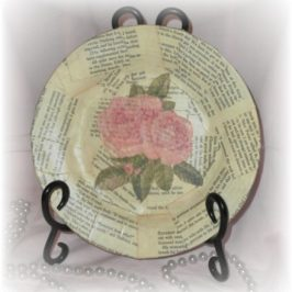 Crafting With Old Book Pages