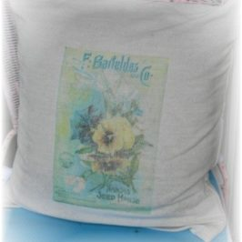 Seed Packet Pillows