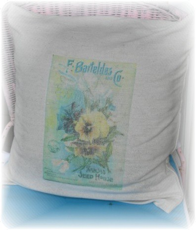 seed packet pillow
