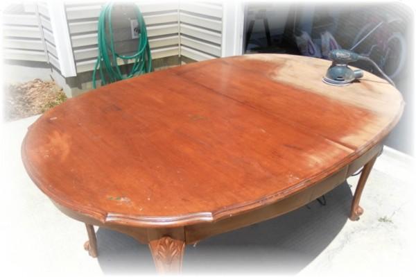 Diningroom Table Redo