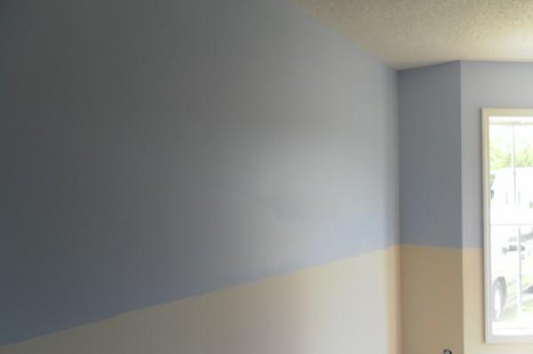 Diningroom Wall Wainscott Tutorial