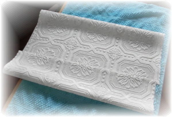 celing tile wallpaper booking