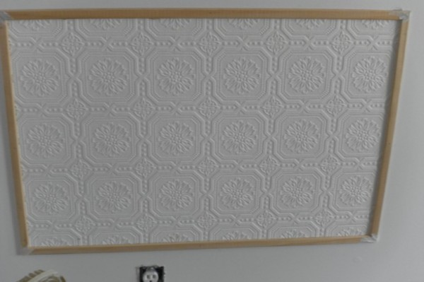 Faux Ceiling Tile Wall Panel