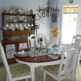 A Budget Friendly Cottage Dining Room Redesign..The Big Reveal!