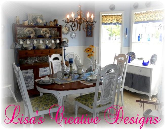 Lisa's Creative Designs Diningroom