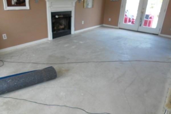 Laying Down Laminate Flooring