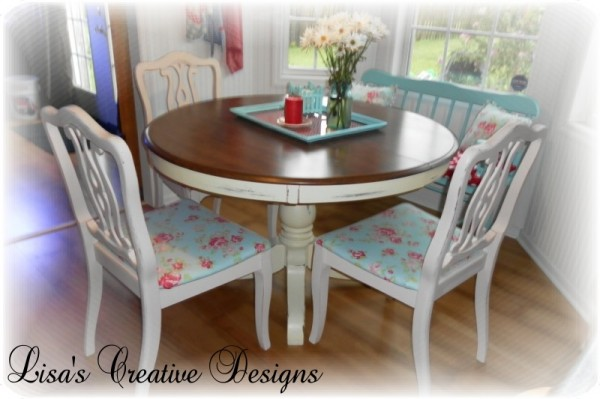 Cotatge Kitchen Table And Chairs