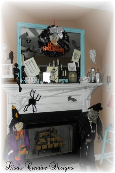 Haloween Mantel 2011