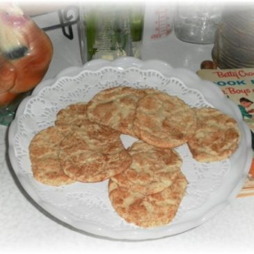 Remembering Home Economics and a Classic Snickerdoodle Cookie Recipe