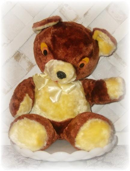 vintage inspired teddy bear pan am