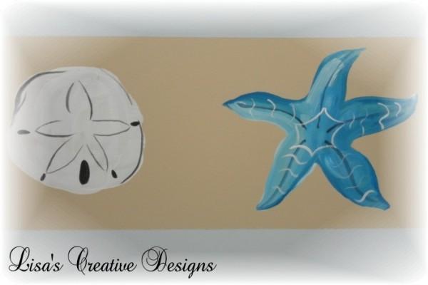 seashell mural