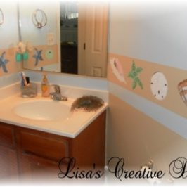 Giving A Beach Inspired Bathroom Personality