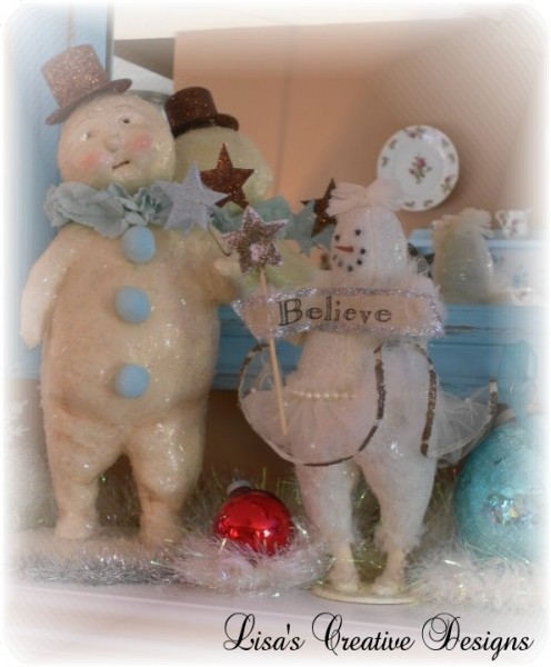 Bethany Lowe Snowman Decoration