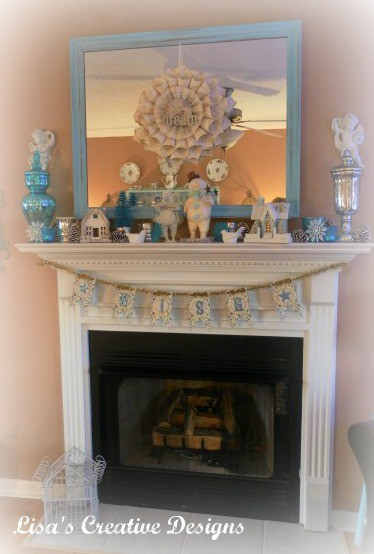 Winter Inspired Mantle