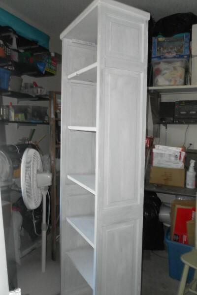 upcycled door project