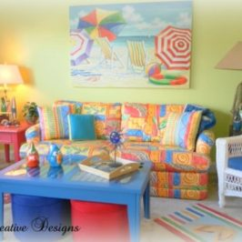 A Colorful Beach Condo