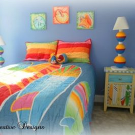 Staging To Live… Decorating A Colorful Beach Condo Part 2