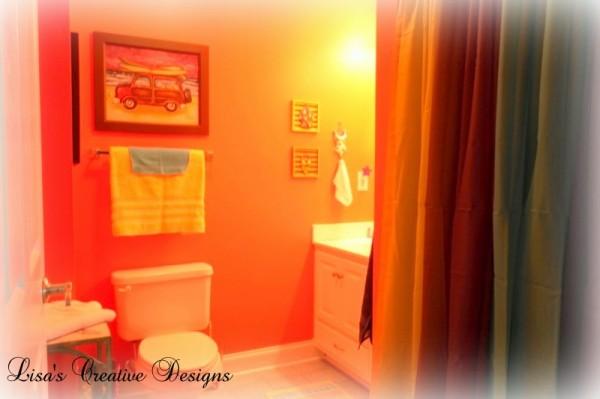 Beachy Master Bathroom