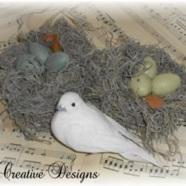A Quick And Easy Way To Make A Decorative Bird's Nest