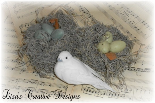 Birds Nest Craft Project