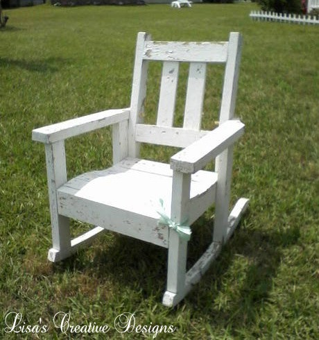 thift store rocking chair