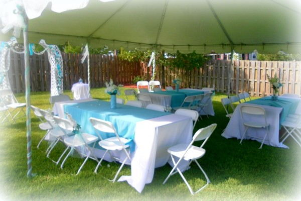 tented wedding reception