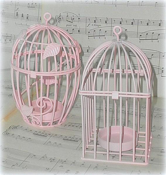 Pink Birdcages