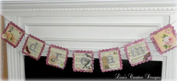 Shabby Chic DREAM banner