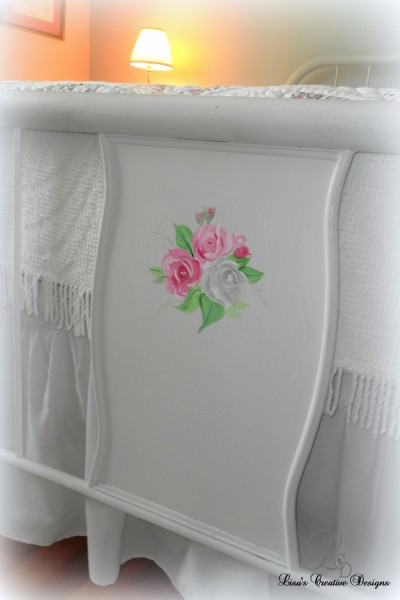 Rose footboard