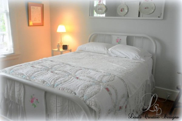 Dressing Up An Antique Hospital Bed Lisa S Creative Designs